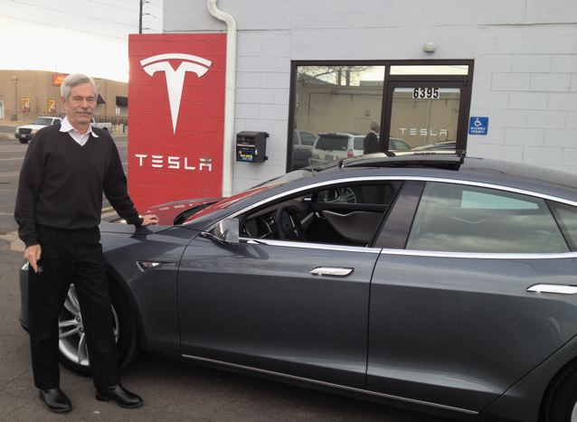 Come see the all-electric Tesla Sedan